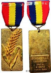 CINQUIÈME RÉPUBLIQUE Médaille à l'épi de blé