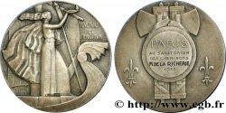 TROISIÈME RÉPUBLIQUE Médaille des cheminots de Paris