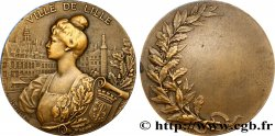 TROISIÈME RÉPUBLIQUE Médaille de la ville de Lille