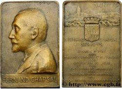 DRITTE FRANZOSISCHE REPUBLIK Plaquette de Fernand Chapsal fVZ