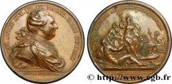 LOUIS XVI Médaille du canal du Centre