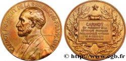 TROISIÈME RÉPUBLIQUE Médaille pour l'élection Sadi de Carnot TTB