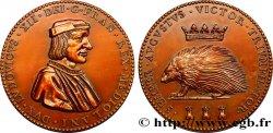 LOUIS XII Médaille de Louis XII AU