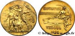 III REPUBLIC Médaille de l'exposition industrielle