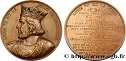 LOUIS-PHILIPPE I Médaille du roi Louis VII le Jeune AU