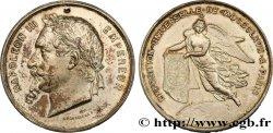 SECOND EMPIRE Médaille de l'exposition Universelle de 1867