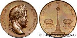 LOUIS-PHILIPPE I Médaille de la colonne de juillet AU