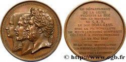 LUDWIG PHILIPP I Médaille pour le mariage de Ferdinand-Philippe dOrléans et Hélène de Mecklembourg-Schwerin