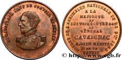 SEGUNDA REPUBLICA FRANCESA Médaille de Louis Eugène Cavaignac