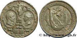 SECOND EMPIRE Médaille de visite de Napoléon III à Victoria