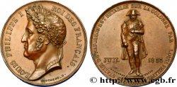 LUIS FELIPE I Médaille de rétablissement de la statue de Napoléon Ier