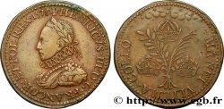 HENRY III Médaille d'Henri III - MANET VLTIMA COELO XF