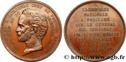 DEUXIÈME RÉPUBLIQUE Médaille du général Eugène Cavaignac