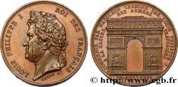LOUIS-PHILIPPE Ier Médaille pour l'Arc de Triomphe