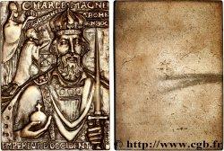 V REPUBLIC Plaquette uniface pour Charlemagne