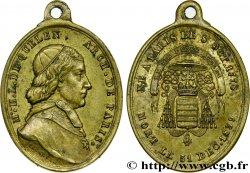 LUIGI FILIPPO I Médaille pour Hyacinthe de Quelen, archevêque de Paris BB