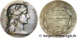 TROISIÈME RÉPUBLIQUE Médaille d'escrime TTB+