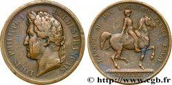 LOUIS-PHILIPPE I Médaille offerte par l'armée à Louis-Philippe VF