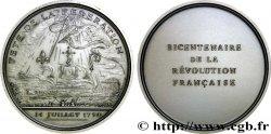 V REPUBLIC Médaille pour le bicentenaire de la Révolution MS