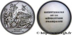 V REPUBLIC Médaille pour le bicentenaire de la Révolution
