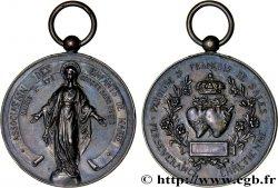 III REPUBLIC Médaille religieuse XF