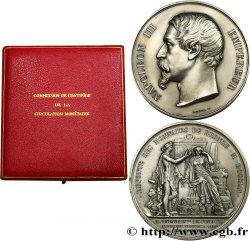 V REPUBLIC Médaille pour la refonte de la monnaie de cuivre