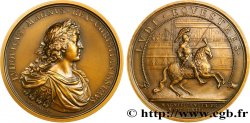 LOUIS XIV  THE SUN KING  Médaille, Magnificence du prince, refrappe