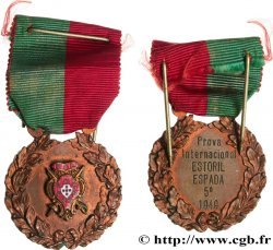 PORTUGAL Médaille, Prix international d'épée