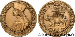 LOUIS XII, FATHER OF THE PEOPLE Médaille, Porc-épic, refrappe
