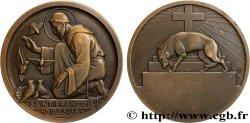 MÉDAILLES RELIGIEUSES Médaille, Saint François d'Assise, Compagnie de Navigation