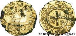 MEROVINGIAN COINS - indeterminate MINT Triens fourré CA à la croix