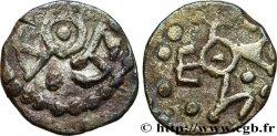MEROVINGIAN COINS - indeterminate MINT Denier aux monogrammes