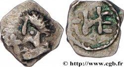 MEROVINGIAN COINAGE - MARSEILLES (MASSILIA) Denier, patrice Nemfidius