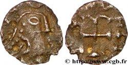 MEROVINGIAN COINS - indeterminate MINT Bronze au type du triens - Paris ou Orléans