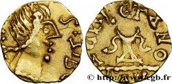 MEROVINGIAN COINAGE - BANASSAC (BANNACIACO) - Lozere Triens au nom de SIGEBERT III AU