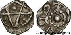 MEROVINGIAN COINS - TOURAINE - indeterminate MINT Denier au pentalpha