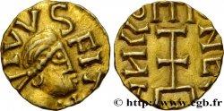 QUENTOVIC (WICVS IN PONTIO) Triens, monétaire ANGLVS I, type VIIIa