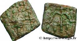 MEROVINGIAN COINS - indeterminate MINT Bronze à la croix ancrée