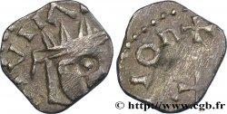 Moneta indeterminato ORLEANS - POITIERS - (CIVITAS AVRELIANORVM - PECTAVORVM) Denier à la tête radiée