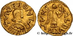 MEROVINGIAN COINAGE - SOISSONS Triens