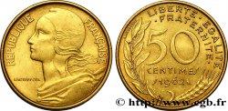 50 centimes Marianne, col à trois plis 1962 Paris F.197/2 TTB54