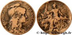 5 centimes Daniel-Dupuis 1900  F.119/9 B  12