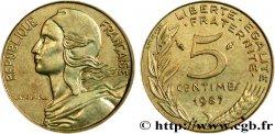 5 centimes Marianne 1987 Pessac F.125/23 SUP58