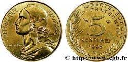 5 centimes Marianne, 4 plis 1996 Pessac F.125/39  63