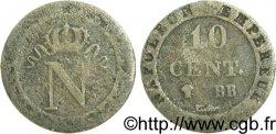 10 cent. à lN couronnée n.d. Strasbourg F.130/4 var. F12