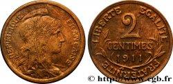 2 centimes Daniel-Dupuis 1911 Paris F.110/14 SPL55