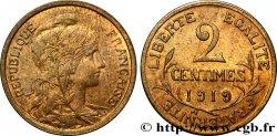 2 centimes Daniel-Dupuis 1919 Paris F.110/19 SUP55