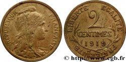 2 centimes Daniel-Dupuis 1919 Paris F.110/19 BB40