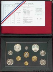 Boîte Fleur de Coins 1990 Paris F.5000/50 FDC