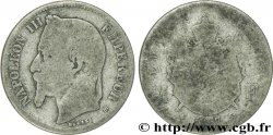 1 franc Napoléon III, tête laurée 1867 Strasbourg F.215/5 MC3